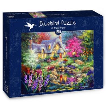Bluebird Cottage Pond palapeli 1500 palaa