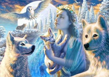 Bluebird Spirit of the Mountain -palapeli 1000 palaa