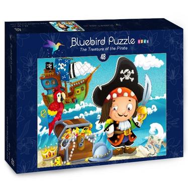 Bluebird The Treasure of the Pirate palapeli 48 palaa