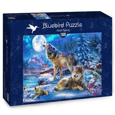 Bluebird Winter Wolf Family -palapeli 1500 palaa
