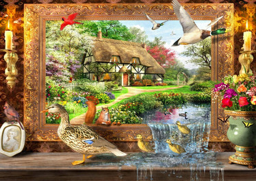 Bluebird Still to Life palapeli 1500 palaa