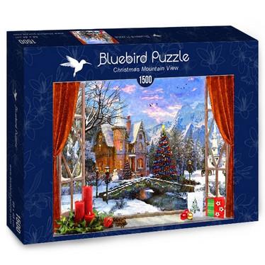 Bluebird Christmas Mountain View -palapeli 1500 palaa