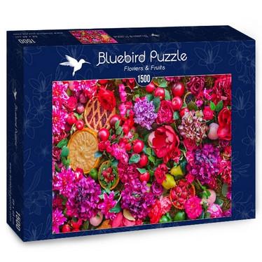 Bluebird Flowers & Fruits - palapeli 1500 palaa