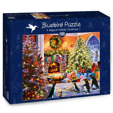 Bluebird A Magical View to Christmas -palapeli 1000 palaa