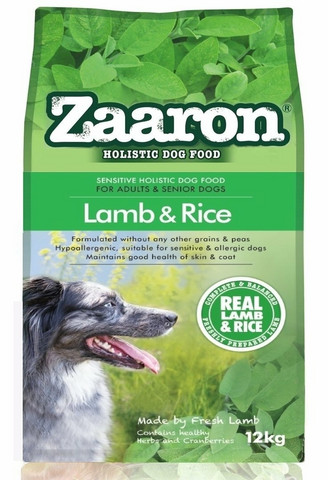 Zaaron Sensitive Holistic Lamb & Rice 12 kg