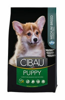 Cibau Puppy Medium Chicken & Rice 12kg