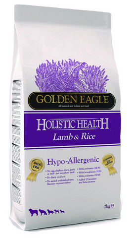 Golden Eagle Hypoallergenic Lamb & Rice 2kg
