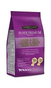 Golden Eagle Super Premium Lamb & Rice L/G puppy 12kg