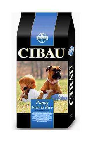 Cibau Puppy Fish & Rice koiranpennun kala-riisi täysravinto 15kg