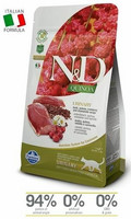 N&D Cat Adult Urinary, Duck-Quinoa-Cranberries-Chamomille 1,5 kg