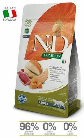 N&D Cat Adult Duck-Pumpkin-Cantaloupe melon 1,5 kg
