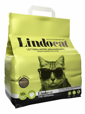 Lindo Cat The Original 10 kg ,kissan mikrohiekka (paakkuuntuva)