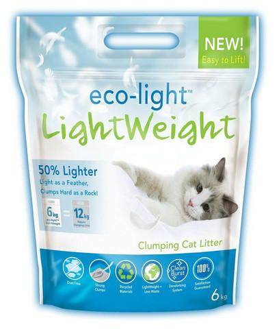 Eco-light 6 kg , paakkuuntuva kevyt-mikrohiekka