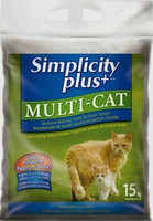 Simplicity Plus+ Multi-Cat 15 kg kissan mikrohiekka