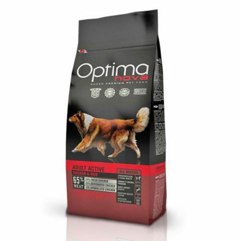 Optima Nova Dog Active Chicken & Rice 12 kg
