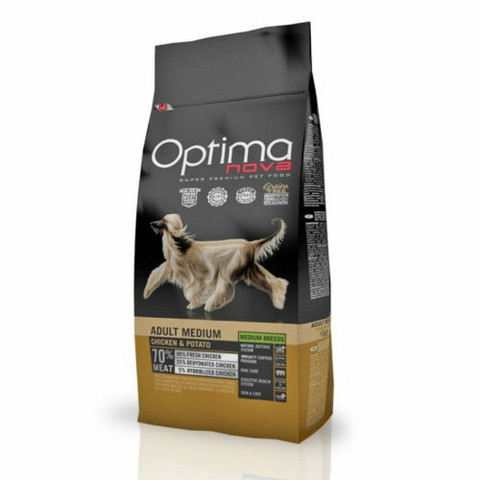 Optima Nova Dog Adult medium Chicken & Potato 12 kg