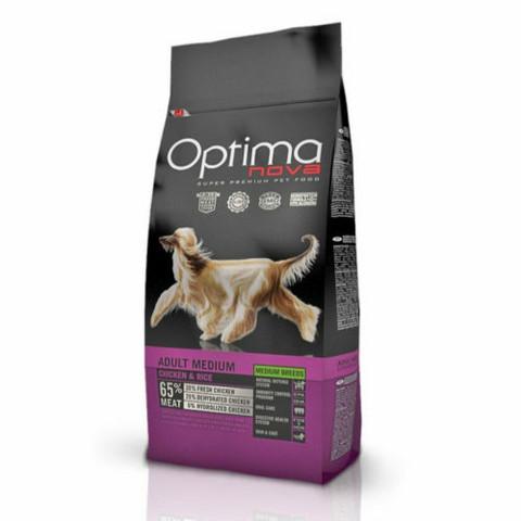 Optima Nova Dog Adult medium Chicken & Rice 12 kg