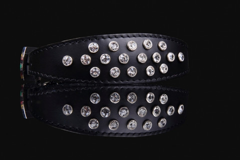 EXCLUSIVE CRYSTAL COLLAR 40cm