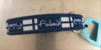 Suomi Finland panta 45-55cm x 19 mm