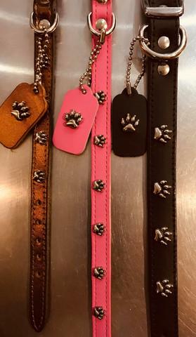 MIRAGE Paws kaulapanta pinkki 35cm x 12mm