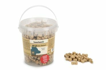 BEEZTEES  Mini Bones Mix herkkupalat kana 500g