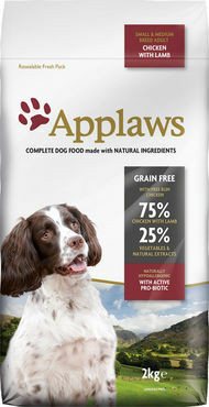 APPLAWS Chicken with Lamb small&medium dogs 2kg