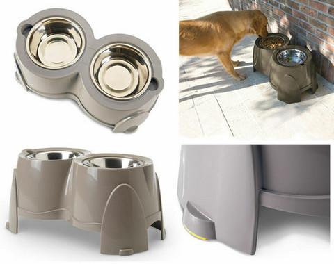 SAVIC Ergo feeder koiran ruokintabaari 2x1,5l