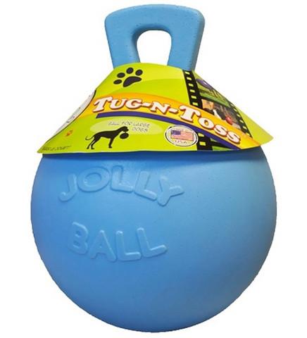 Jolly Tug-n-Toss kahvakuula n. 25,5cm sininen