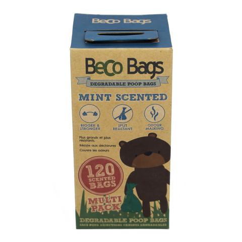 Beco eco kakkapussi mintuntuoksu 8x15kpl