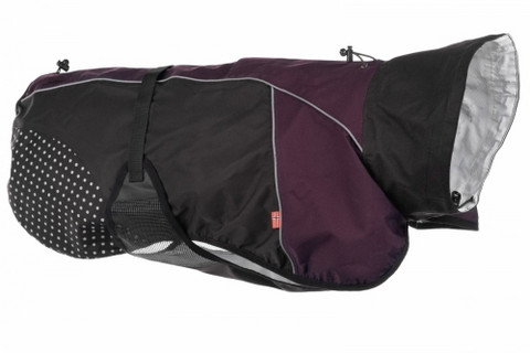 Non-Stop Dogwear Beta Pro raincoat purple 24cm