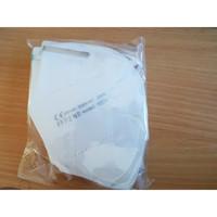 Valkoinen FFP2 KN95 Maski 5kpl