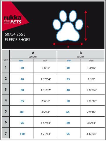 Rukka Fleece shoes koko 6