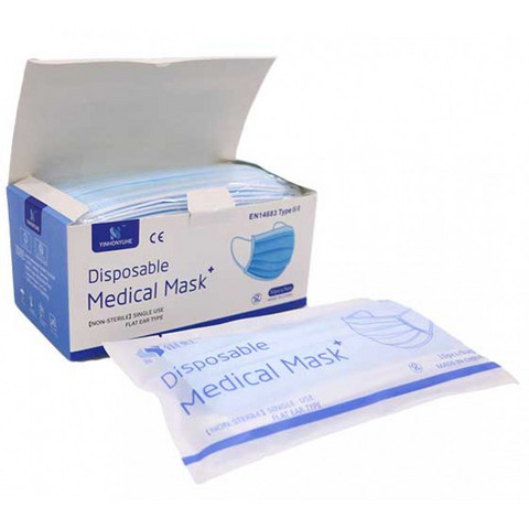 YINHONYUHE Medical suu-nenäsuojus type IIR 50kpl