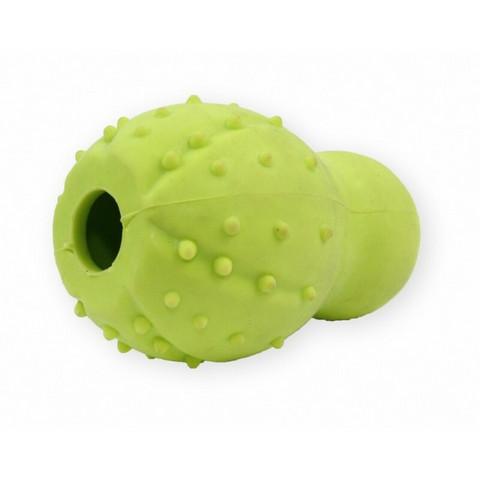 Pet Nova sound jumping ball with bell 9,5cm keltainen