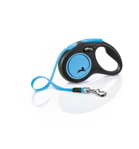 Flexi New neon special edition neon-blue liinalla M 5m