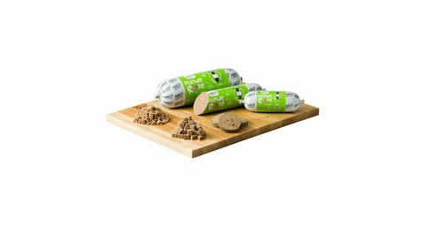 Purbello Hunde Rolle Hevosen lihaa punajuurta ja fenkolia 200g