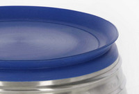 Kerbl-luistamaton ruoka/juomakuppi 1,9L terästä