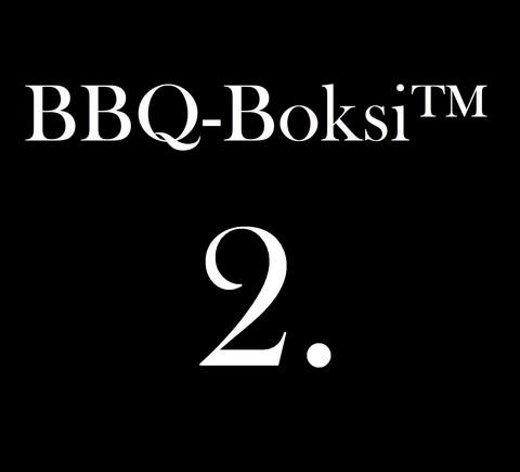 BBQ-Boksi™ 2. - Brisket Burgers