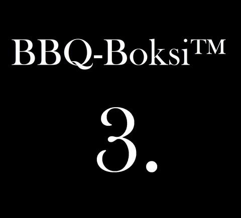 BBQ-Boksi™ 3. - Pulled Pork Burgers