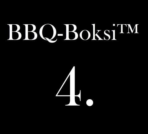 BBQ-Boksi™ 4. - JJ's Smoked Burgers