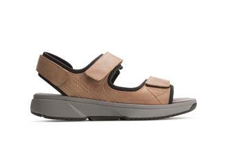 Xsensible sandaali Borneo MIEHET (havanna)