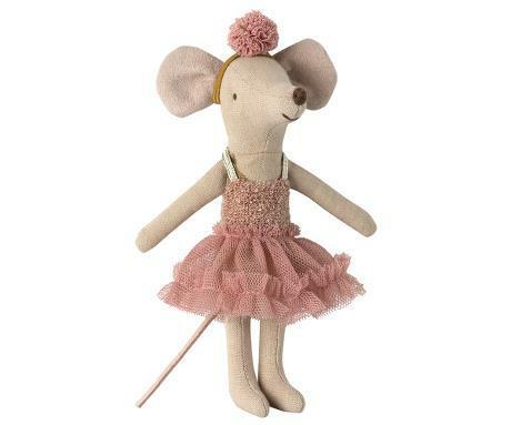 Maileg ballerinamouse pink skirt