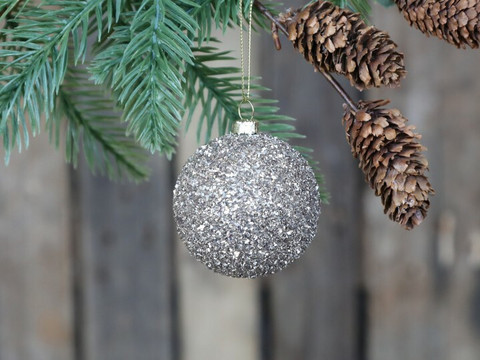 Glitterball hanging