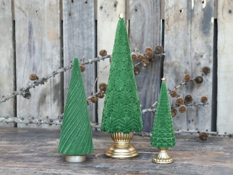 Velour christmastree