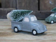 Car with christmastree