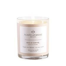 Scented candle in vegan cotton