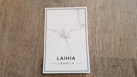 Laihia postcard