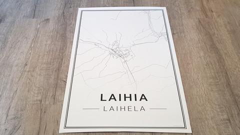 Laihia poster 50x70cm
