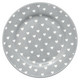 Plate Penny Grey