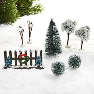 Fence / spruce set